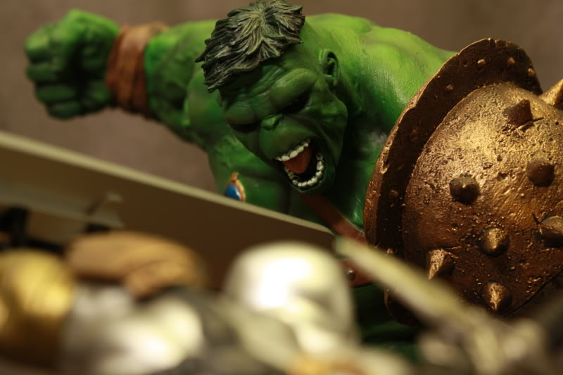 Marvel Planet Hulk Green Scar VS Silver Savage IMG_4692