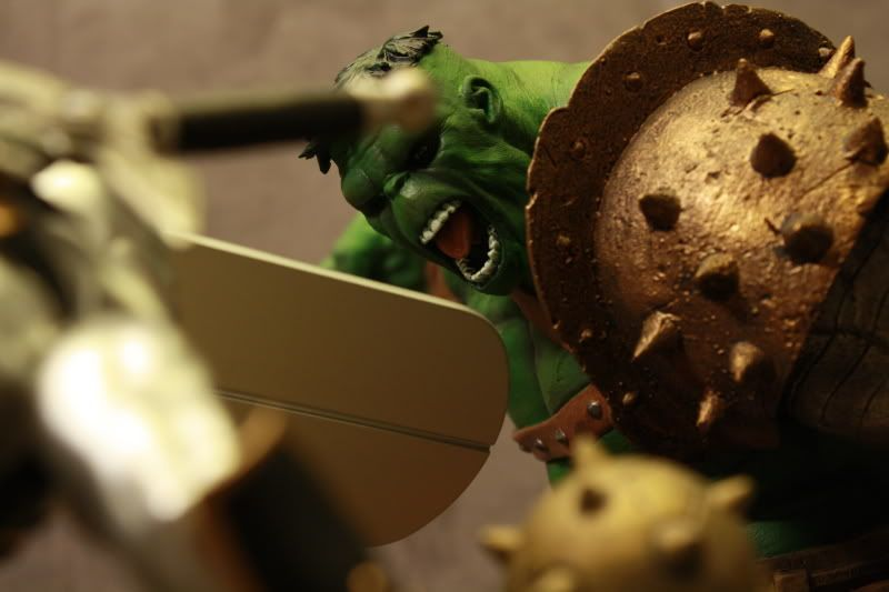 Marvel Planet Hulk Green Scar VS Silver Savage IMG_4693