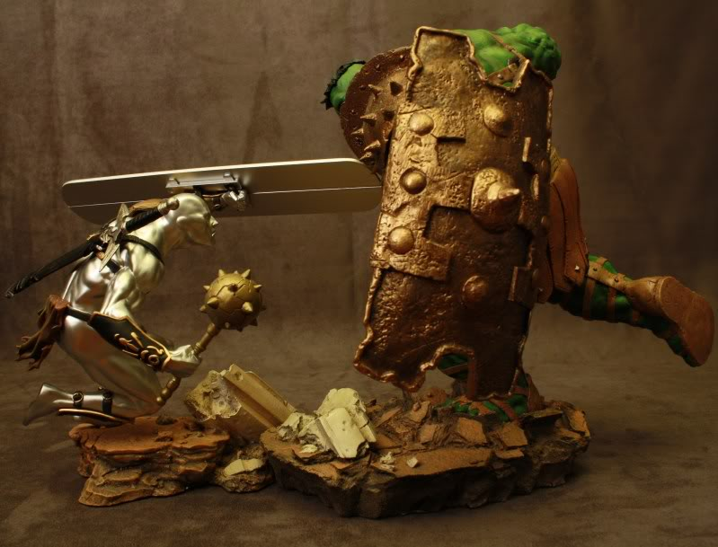 Marvel Planet Hulk Green Scar VS Silver Savage IMG_4701