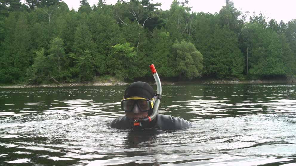 Plongée sur la rivière Petite-Nation – 8 Août 2010 Petite-Nation8AOUT2010W
