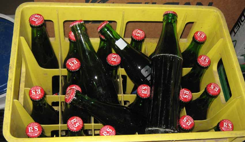Ginger beer maison: Première tentative! Bouteilles-sales-ginger-beer
