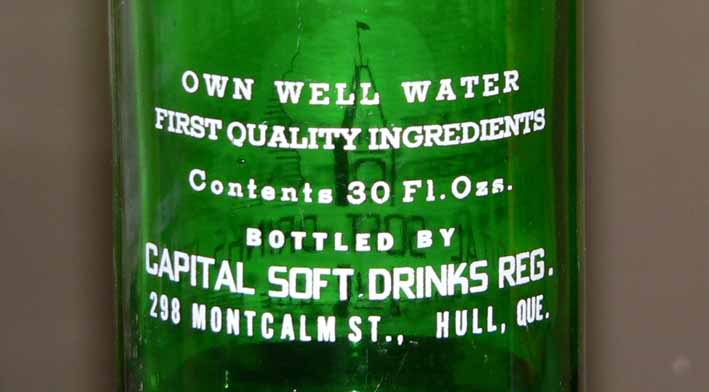 CAPITAL SOFT DRINKS REG. - Hull, Québec **ACL** Capital1