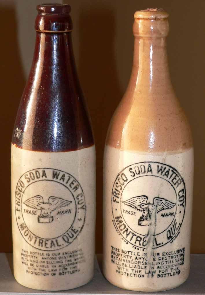 Frisco soda water  ginger beer et syphon  Frisco