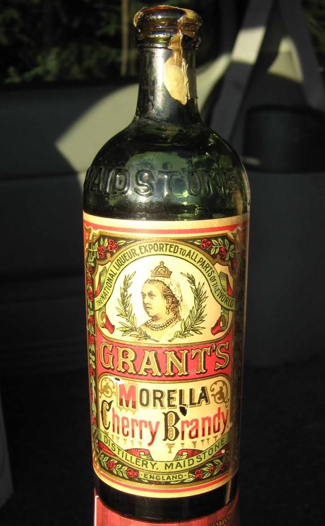 Grant's MORELLA Cherry Brandy...  BIMAL!! Grant