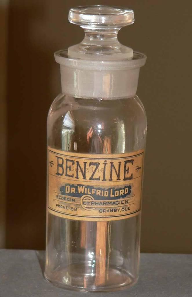 """BENZINE"" du Dr. Wilfrid Lord de Granby...  BIMAL! Lord"