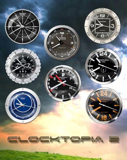 الان اجعل سطح مكتبك اجمل مع هذه المجموعة من الساعات الرائعة Clocktopia Sidebar ► Clocktopia_2_0_by_rodfdez