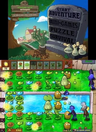¡Plantas vs Zombies Nivel 5! Plants-N-Zombies