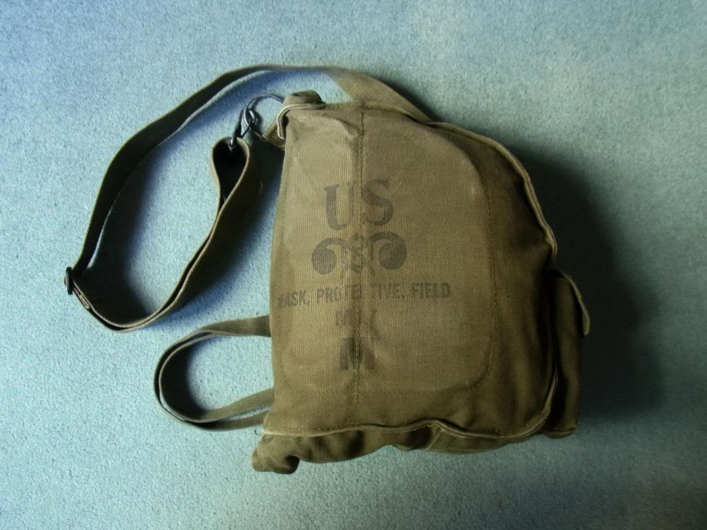 US Army gasmask pouch M17 Vietnam era (original) RIMG0029_zps708e049f