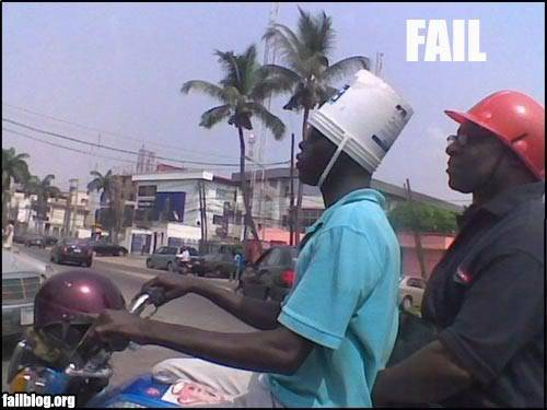 The official thread of lulz. Helmet-fail