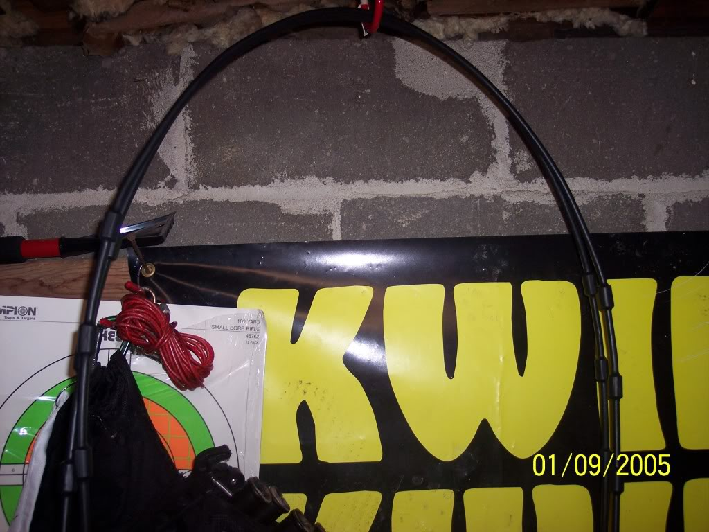 TREESTAND CABLE SILENCER (Heat Shrink Replacement Review)-With Pics 001-1