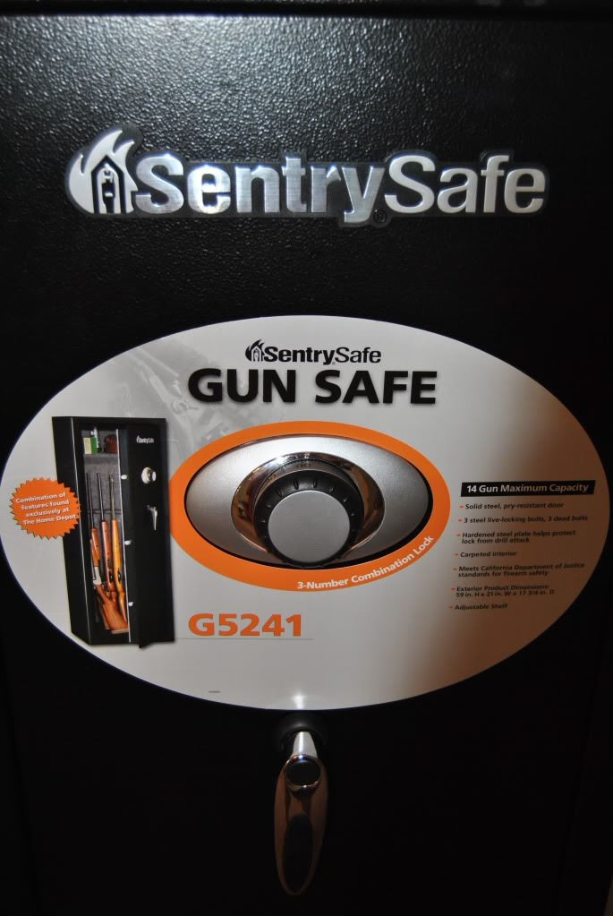 Product Review: Sentry Gun Safe DSC_0194