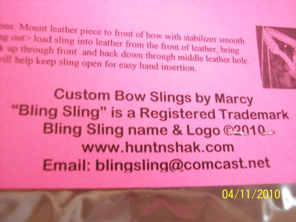 BLING SLING--- Awesome- Check them out! Sb005