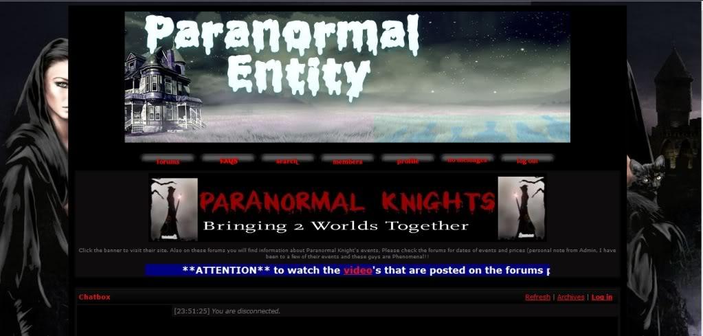 Paranormal Entity Pe1
