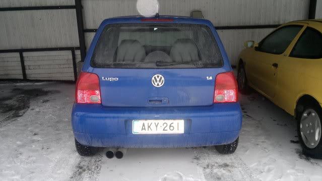 Vw Lupo 16v myytävänä 09012011090