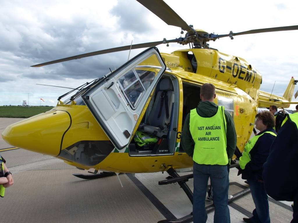 East Anglian Air Ambulance,Cheque Presentation. NorfolkMiniOwnersClubdonationtoEAAA001