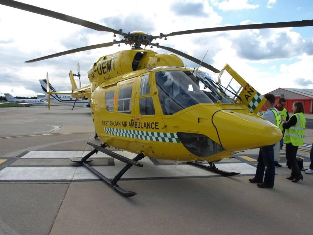 East Anglian Air Ambulance,Cheque Presentation. NorfolkMiniOwnersClubdonationtoEAAA005