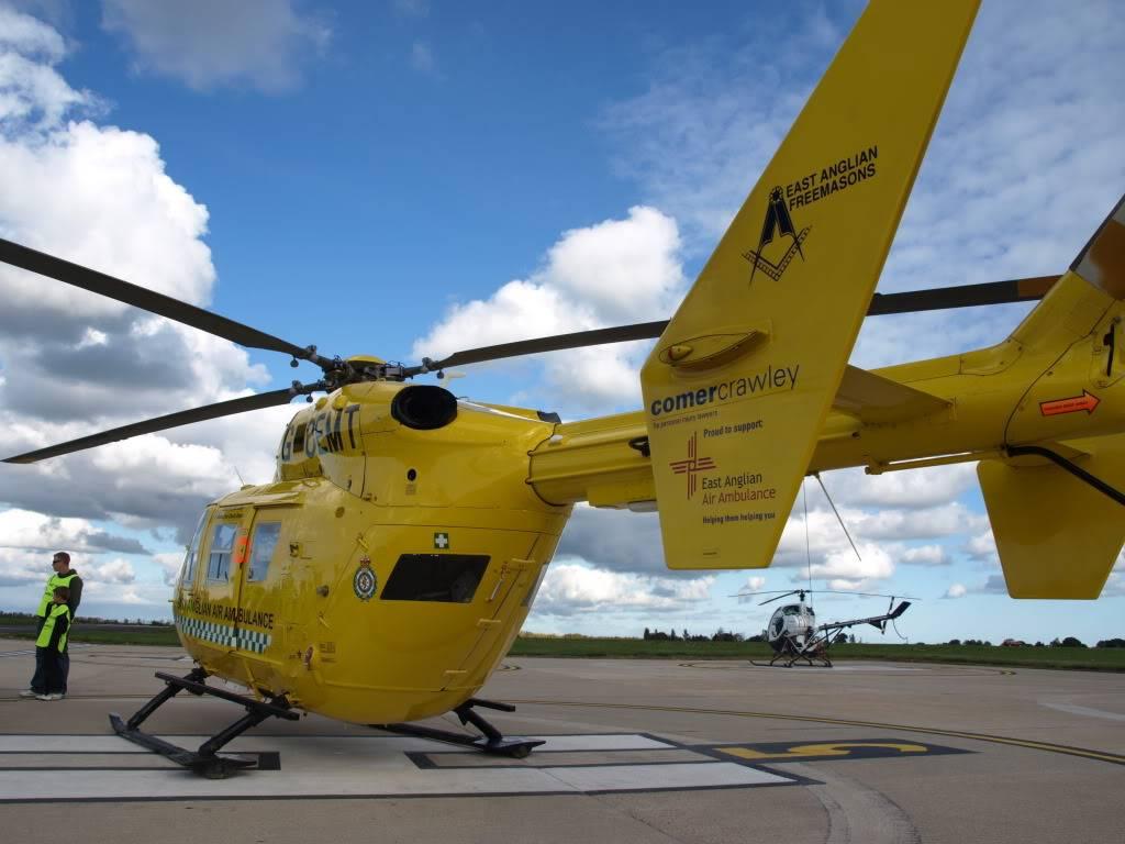 East Anglian Air Ambulance,Cheque Presentation. NorfolkMiniOwnersClubdonationtoEAAA008