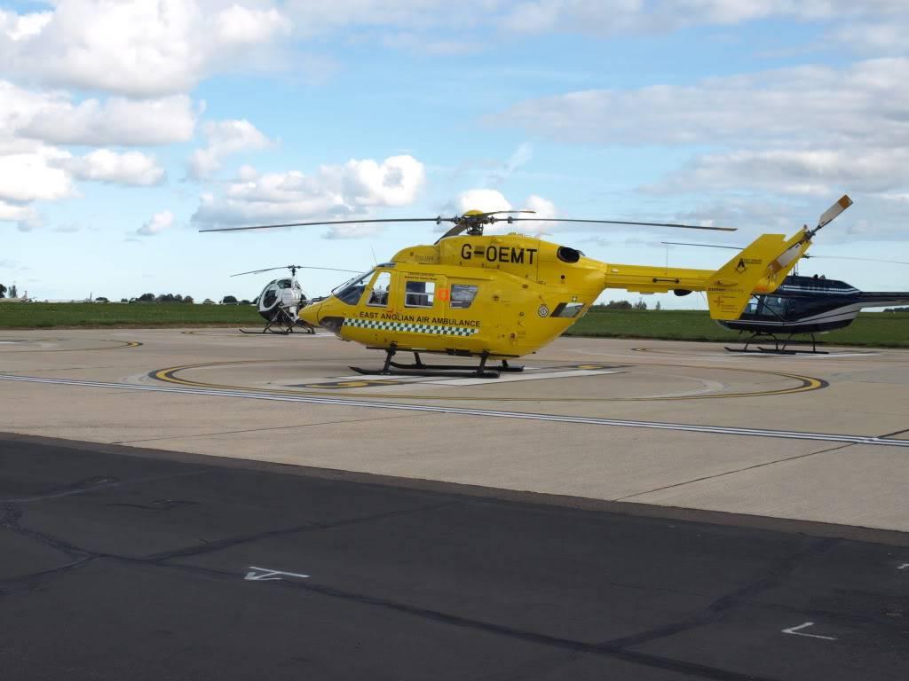 East Anglian Air Ambulance,Cheque Presentation. NorfolkMiniOwnersClubdonationtoEAAA010