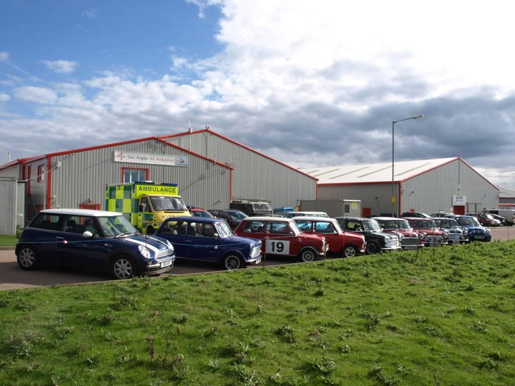 East Anglian Air Ambulance,Cheque Presentation. NorfolkMiniOwnersClubdonationtoEAAA017