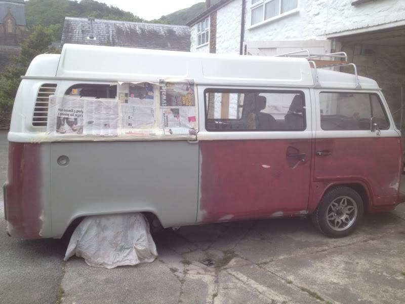 Rust - rust on rear arch  3192da63