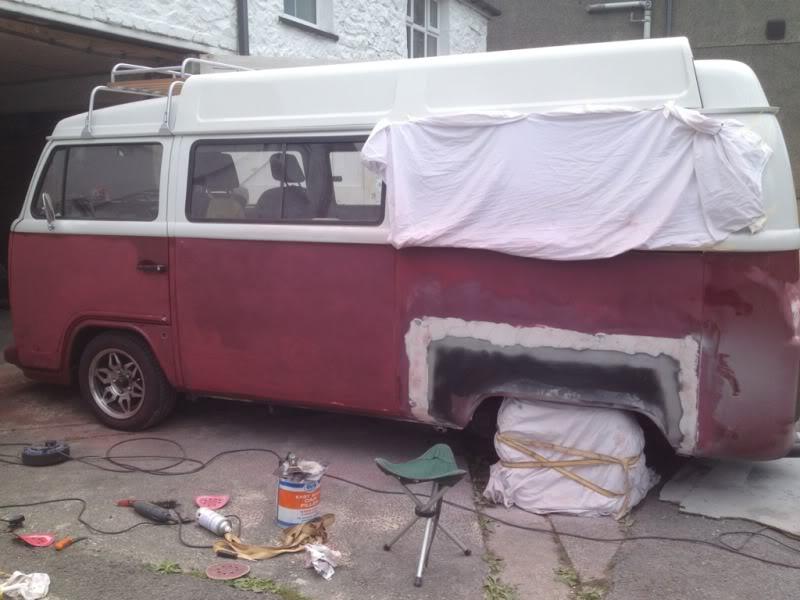 Rust - rust on rear arch  420dbdca