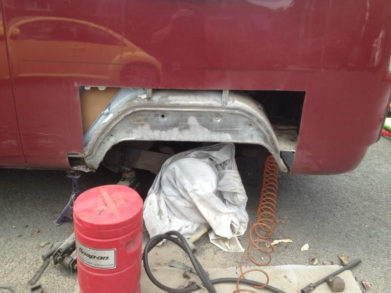 Rust - rust on rear arch  44f8381f