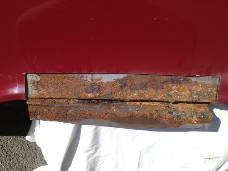 Rust - rust on rear arch  462fed0c