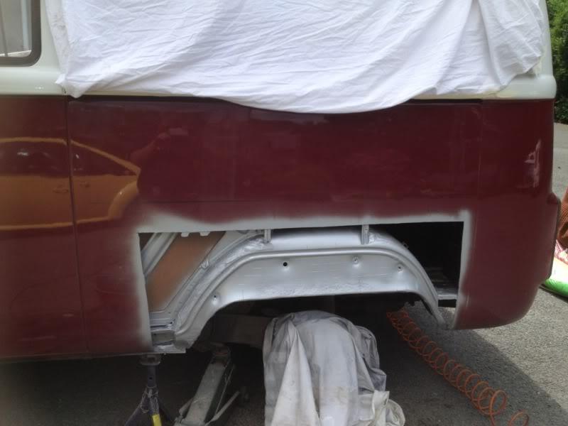 Rust - rust on rear arch  Dcd723e0