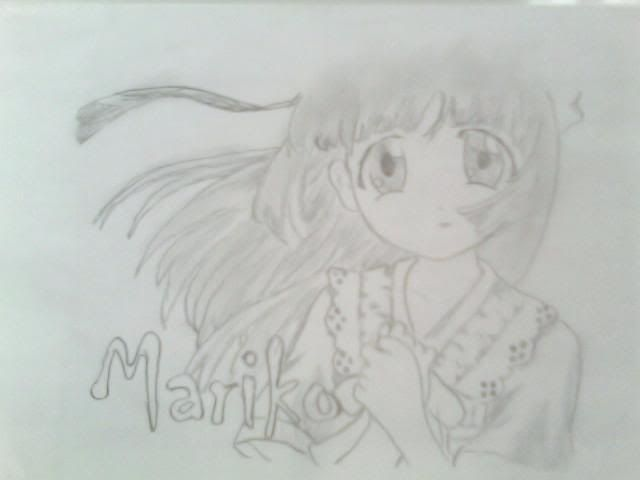 Mis Fan art ^^ Mariko