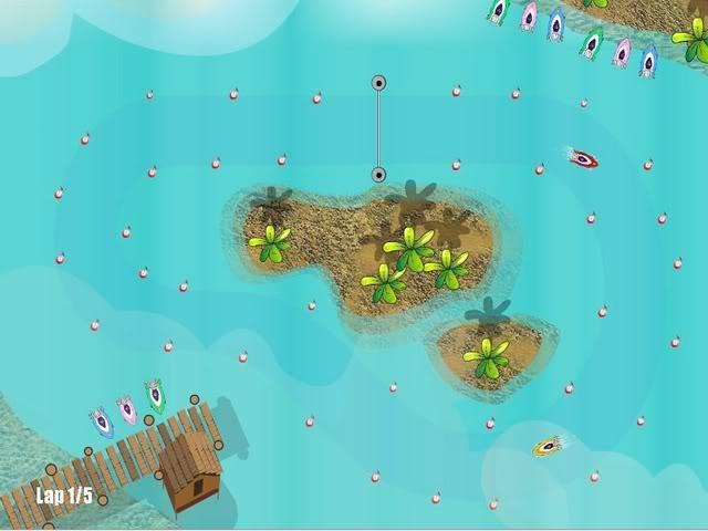 Mini Wave (Fun Racing Boat Game) Miwve1c