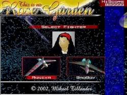 This Is No Rose Garden (scrolling space shooter) TINRG1