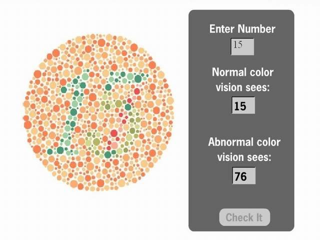 Color Vision Test (You'll Be Surprised) Clrsionst1a