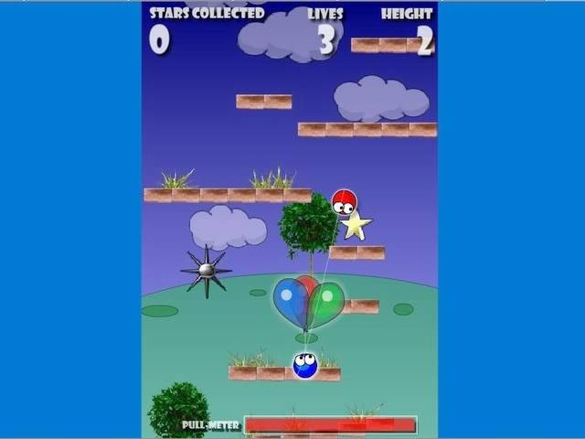 Going Up (Scrolling Bouncing Ball) Gonp1ca