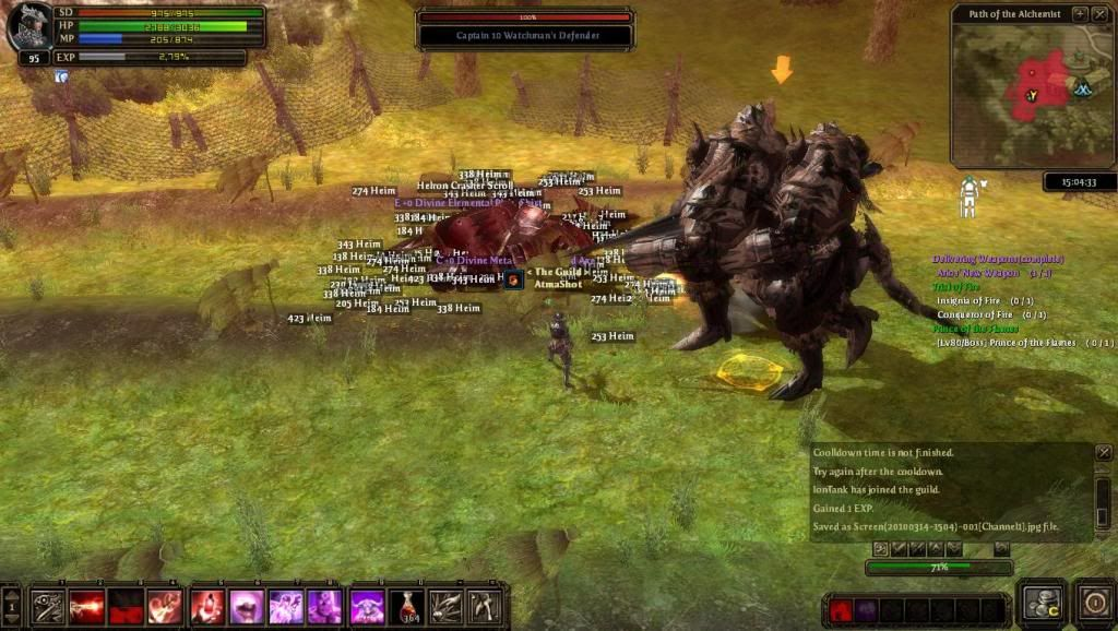 Me soloing FoB bosses Screen20100314-1504-001Channel1