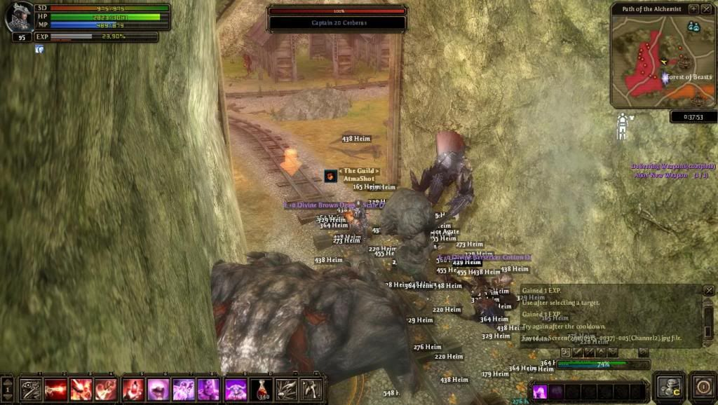Me soloing FoB bosses Screen20100315-0037-005Channel2