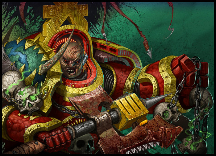 [W40K] Collection d'images : Space Marines du Chaos 22-World-Eaters-Terminator-hOrtiz