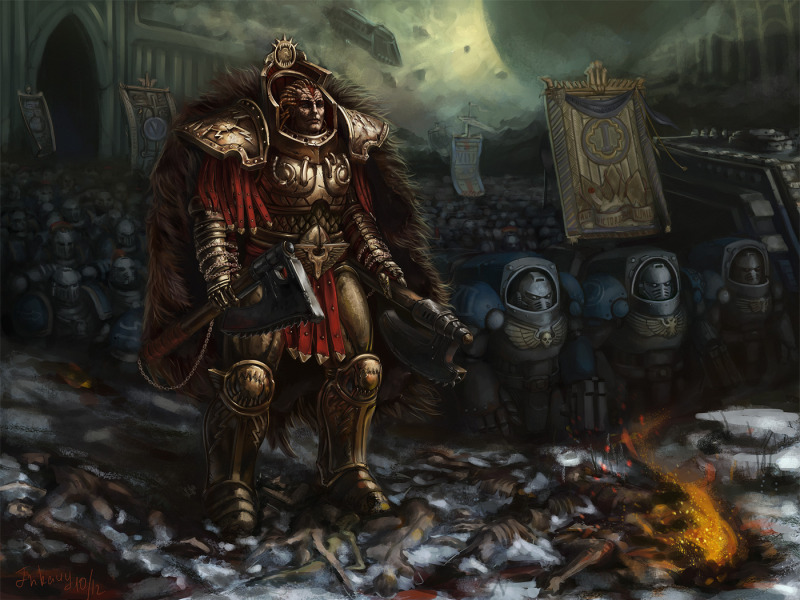 [W30K] Legiones Astartes XII : World Eaters World_eaters_by_inkary