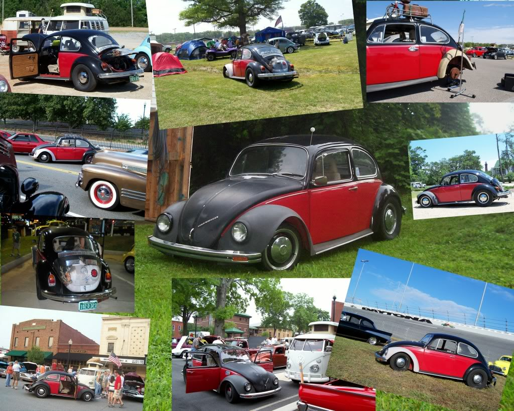 1970 Beetle Restoration Project- First Timer VWCollage