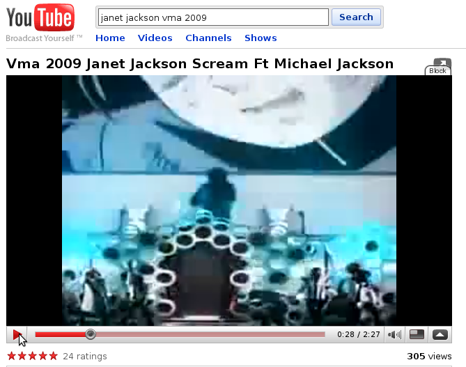 Vma 2009 -Janet's tribute -I can see Michael making an illusion!!!! Must see! Michael1
