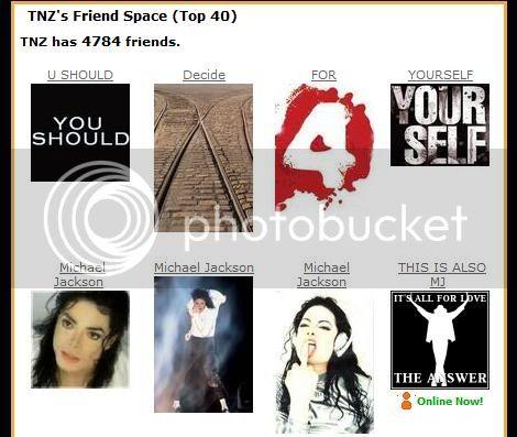 A closer look on TNZ´s Top Friends... TNZ