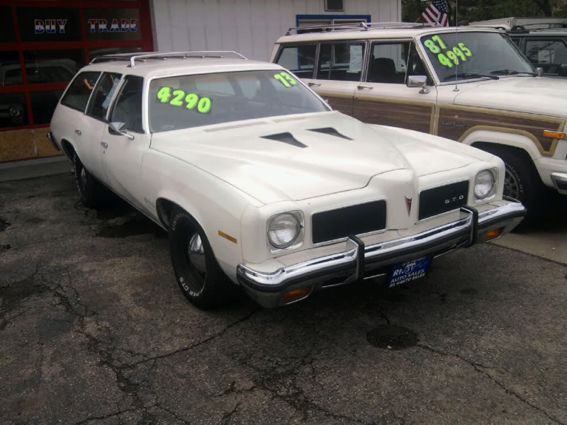 1973 Pontiac Lemans wagon GTO clone Photo0057