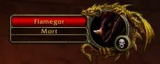 Flamegor Dead!