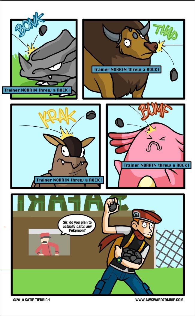 Pokemon Catcher? Comic155