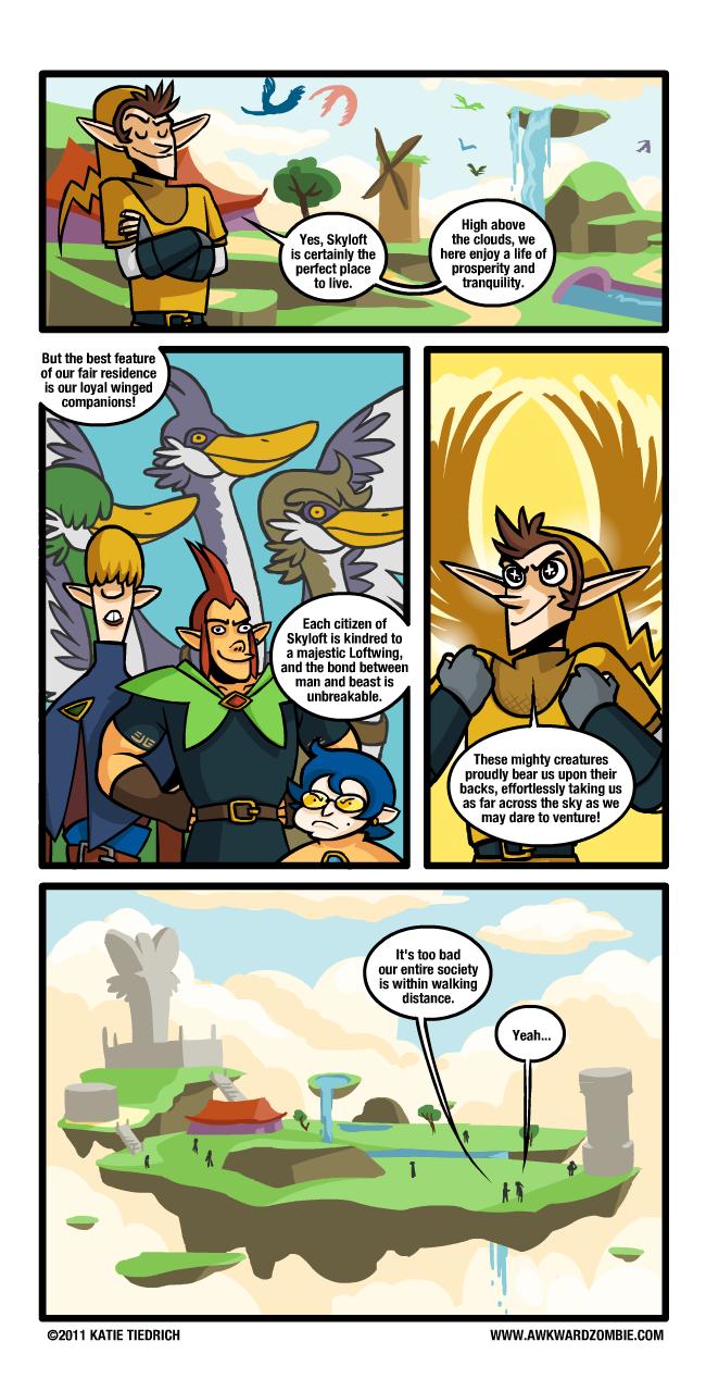 skyward sword, i am disappoint  ಠ_ಠ Comic229