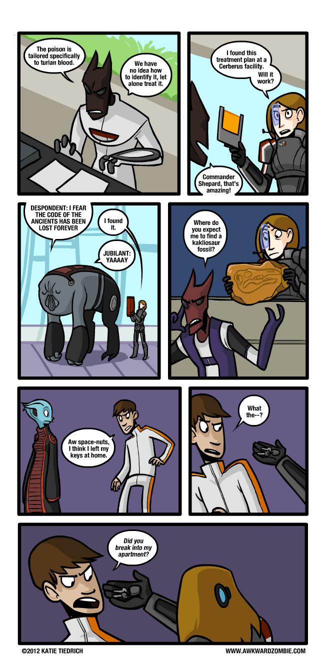 La Saga Mass Effect Comic246