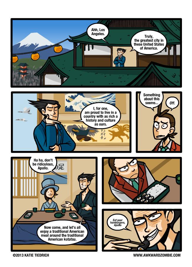 """Anunciado """"Dai Gyakuten Saiban"""", nuevo juego para Nintendo 3DS - Página 2 Comic331_zps0e179cf7"""