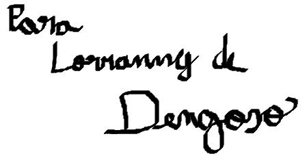 BANDA FANTASIA Autografo