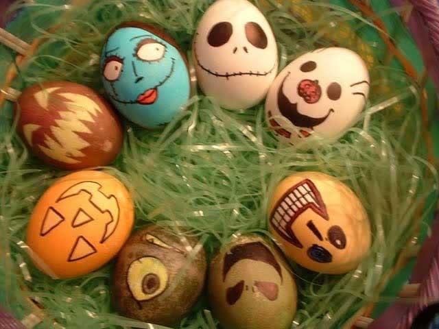 Algunas ideas para Halloween HUEVOSDEHALLOWEEN
