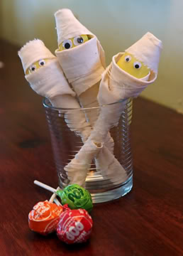Algunas ideas para Halloween Finishedmummies