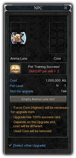 Cabal pet system and leveling guide O9qr01